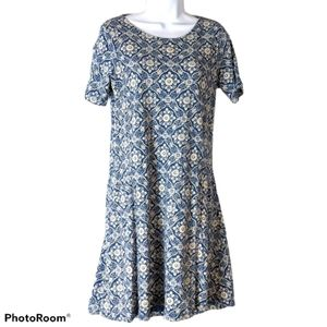 Fat Face Simone Woodblock Print Dress, US 4